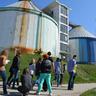 Regensburgi diákok látogatása