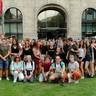 Bochumi diákok látogatása