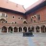 Az egyetem középkori épülete a krakkói óvárosban